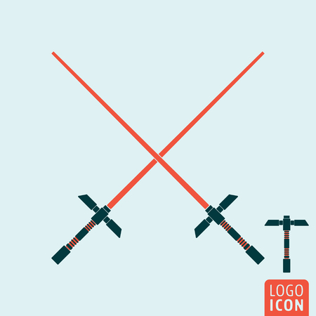 Light sword icon.