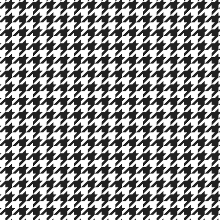 Houndstooth plaid pattern