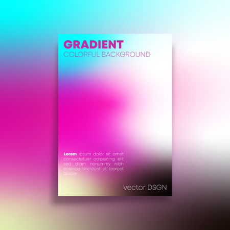 Abstract background with colorful gradient texture for the banner, flyer, poster, brochure cover