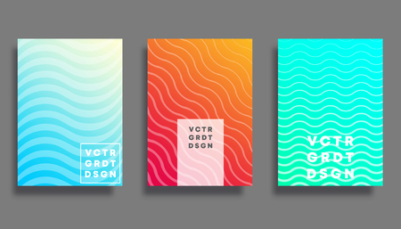 Colorful gradient cover for flyer, poster, brochure, typography or other printing products. Vector illustration.