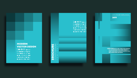 Set of gradient texture background for banner, flyer, poster, brochure cover or other printing products