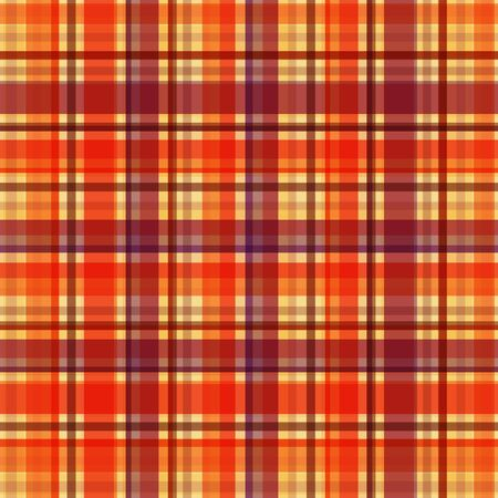 Vintage seamless background line design for plaid, textile, wallpaper, cover or wall decor. Vector illustration.