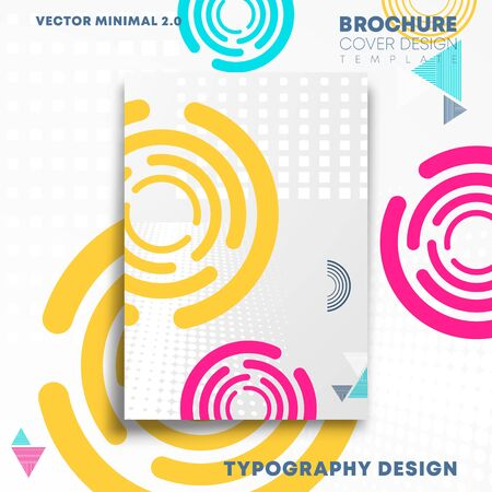Abstract background with geometric shapes design for flyer, poster, brochure cover, typography or other printing products. Vector illustration.