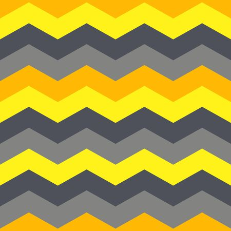 Seamless pattern with geometric waves. Vector illustration. Vettoriali