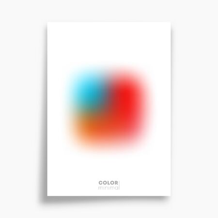 Minimal design poster for flyer, brochure cover, typography, and other printing products. Vector illustration Иллюстрация