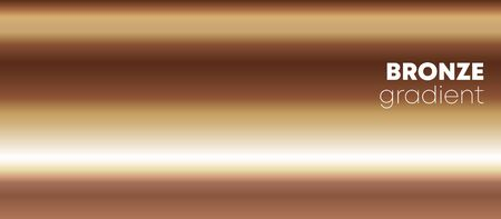 Bronze gradient texture background for the wallpaper, web banner, flyer, poster or brochure cover. Vector illustration.