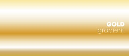 Gold gradient texture background for the wallpaper, web banner, flyer, poster or brochure cover. Vector illustration.