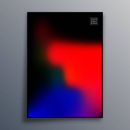 Colorful gradient texture for wallpaper, flyer, poster, brochure cover, typography or other printing products. Vector illustration. Фото со стока - 136915771