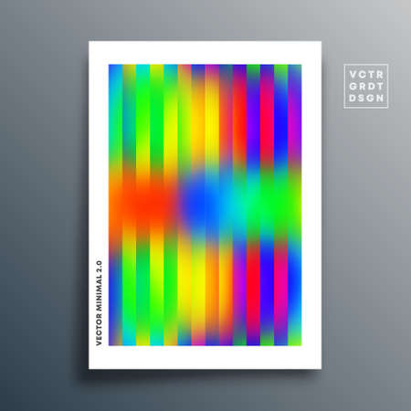 Gradient texture template with linear design for background, wallpaper, flyer, poster, brochure cover, typography, or other printing products. Vector illustration