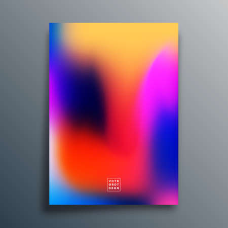 Gradient texture template design for background, wallpaper, flyer, poster, brochure cover, typography, or other printing products. Vector illustration
