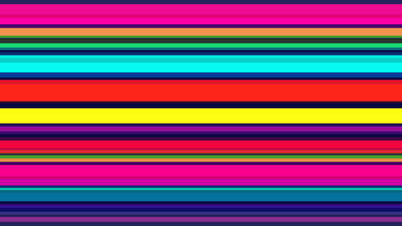Seamless colorful lines background. Multicolor stripes design for wallpaper, printing products, flyers, brochure cover, or wall decor. Vector illustration  イラスト・ベクター素材