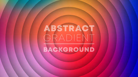 Abstract gradient pattern background. Colorful web banner template. Vector illustration