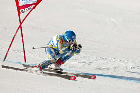 BANSKO, BULGARIA - FEBRUARY 24   Marusa Ferk  SLO  competes in the  ladies
