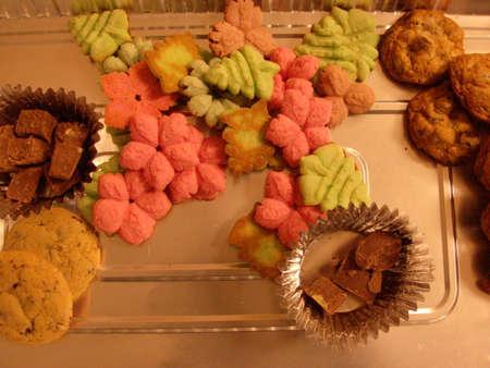 meer cookies Stockfoto