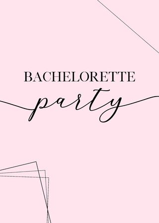 Bachelorette party, bridal shower calligraphy invitation card, banner or poster lettering vector design. Vectores