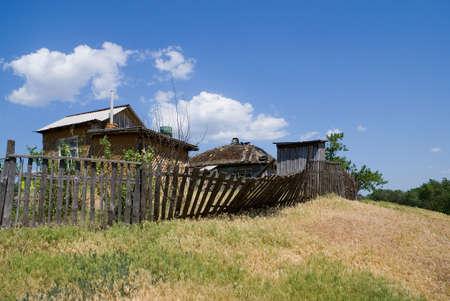 the cossacks: Antiguo asentamiento Elanskaya cosacos del Don en el r�o