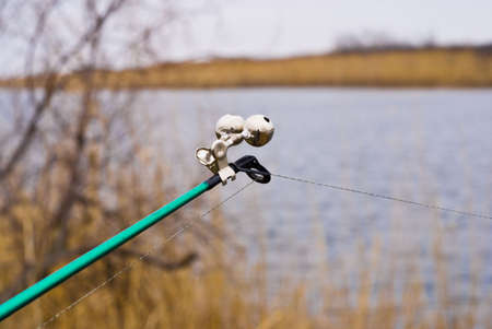 fishingline: Bell at the end of fishing rods