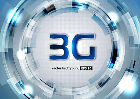 3G Stock Vector - 17640998