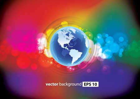 World Stock Vector - 17641000