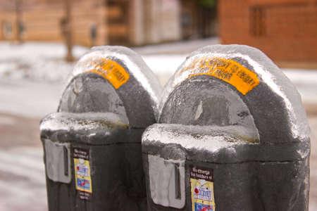 Frozen Parking Meter