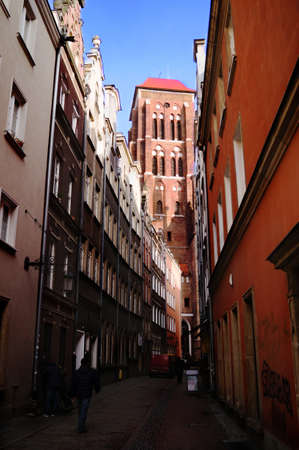 eye traveller: St. Marys Church in Gdansk at midday