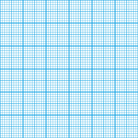 centimeter: Graph paper cyan color, six centimeter seamless pattern
