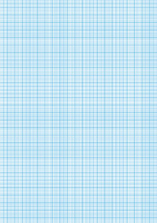 grid paper: Graph paper with grid cyan color on a4 sheet size Illustration