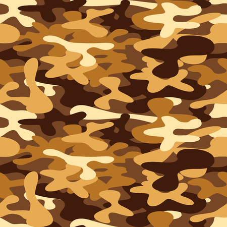 disguise: Military camouflage for disguise in the desert, seamless pattern