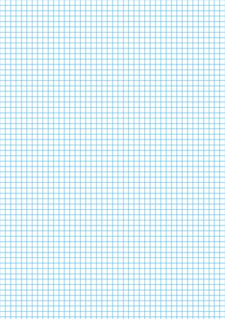 millimeters: Five millimeters cyan grid on a4 size vertical sheet