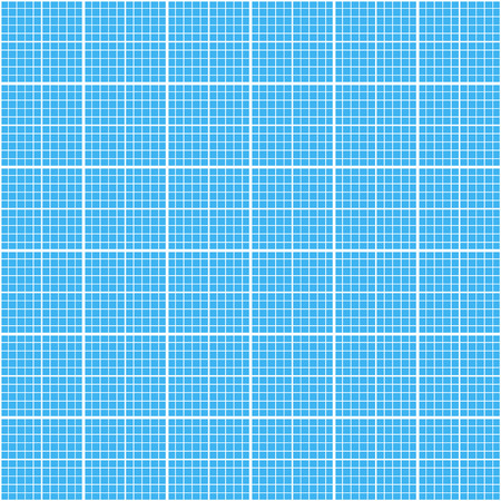 grid paper: White graph grid on cyan color paper seamless pattern
