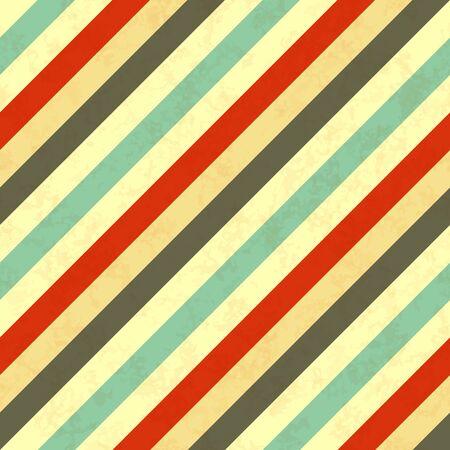 diagonal stripes: Diagonal stripes in retro colours, seamless pattern