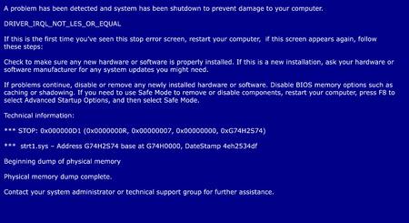 Pantalla azul de la muerte, sistema de informe de errores de fondo Foto de archivo - 63430930
