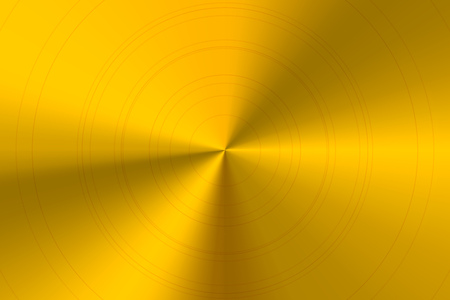 polished: Glossy round polished golden metal horizontal background
