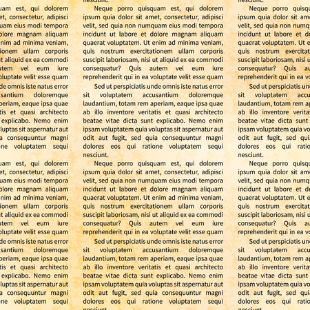 A lot of Latin text on old textured paper, abstract pattern.