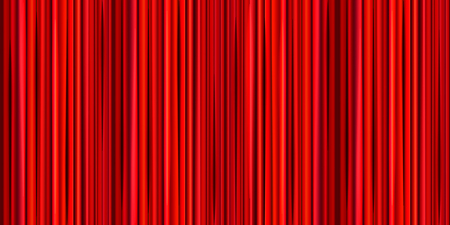 comedy: Bright red curtain, theater wide background