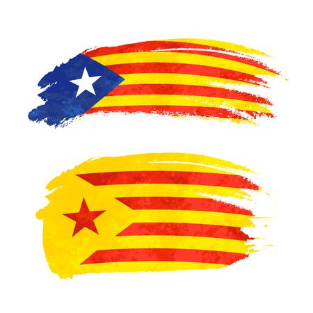 barcelona: National flag icon.