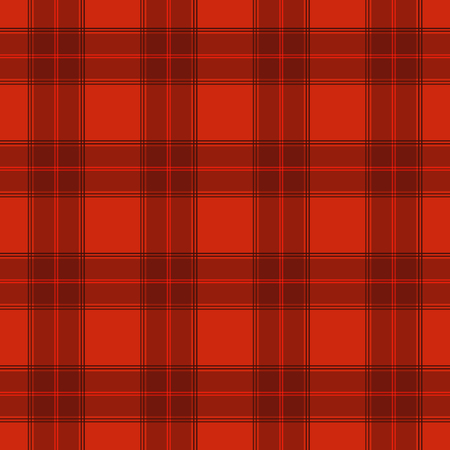 Red tartan striped colourful textile seamless pattern