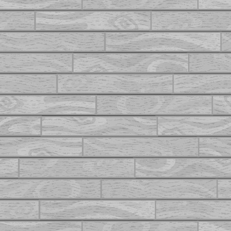 Gray realistic wooden boards with texture, parquet seamless pattern