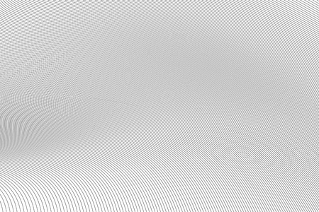 Thin black curved lines, abstract background on white Banque d'images - 122954336