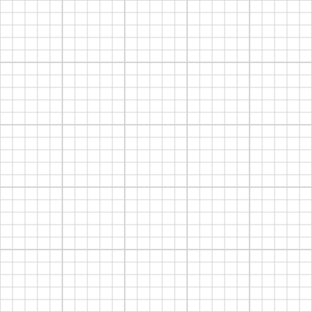 Five millimeter square math gray grid on white, seamless pattern Banque d'images - 122954338