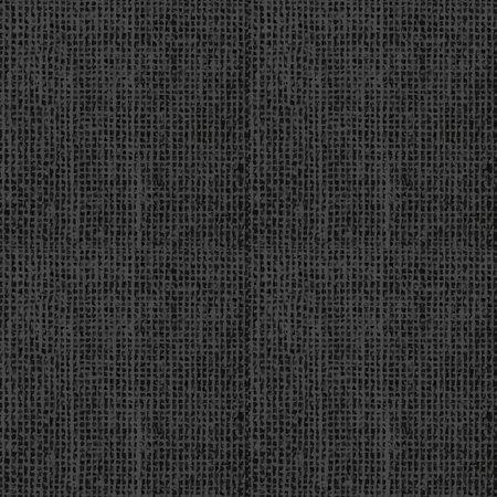 Black grunge texture of weaving fabric, seamless pattern