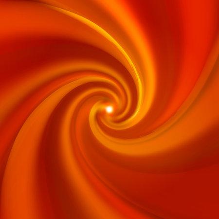 Caramel waves, realistic sweet vortex background Ilustração