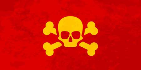 Pirate flag Ilustração