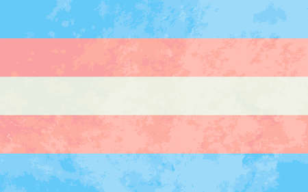 Transgender pride flag Ilustração