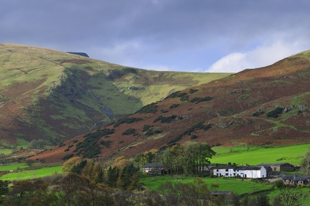 Blencathra in the Autumn. photo