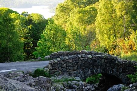 Stone Humped Back Bridge. Stock Photo - 13812496