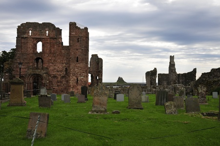 gospels: Castle from a Grave yard through a Priory.