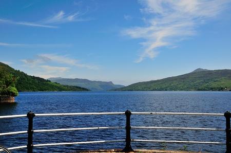 sir walter scott: Loch Katrine from the north