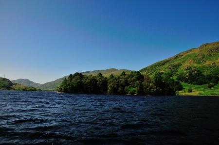 sir walter scott: The Black Isle in a Loch