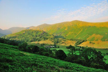 Cumbrian Fells and valley Stock Photo - 21409573